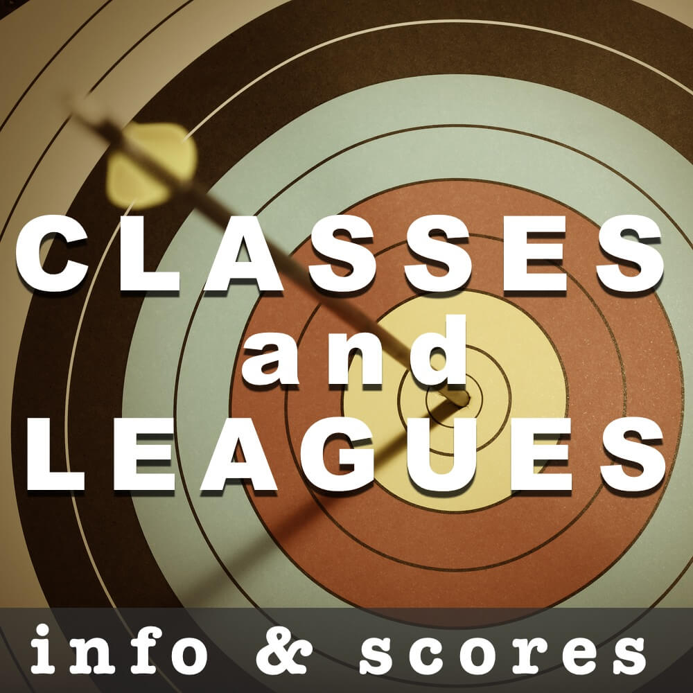 Archery Classes and League Scores and Info