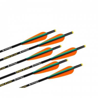 Pro Elite Carbon Crossbow Arrows W Omni Nocks