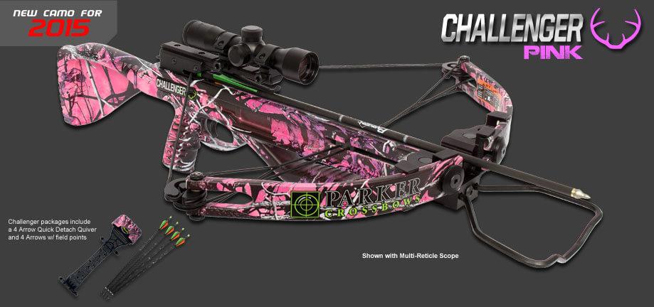 Parker Challenger Pink W Free Pack Borkholder Archery