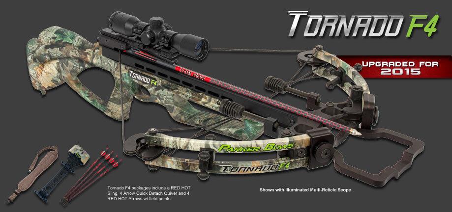 Parker Tornado F4 Crossbow Package