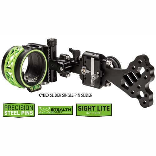 FUSE Cybex Single-Pin Slider Quick-Adjust Sight