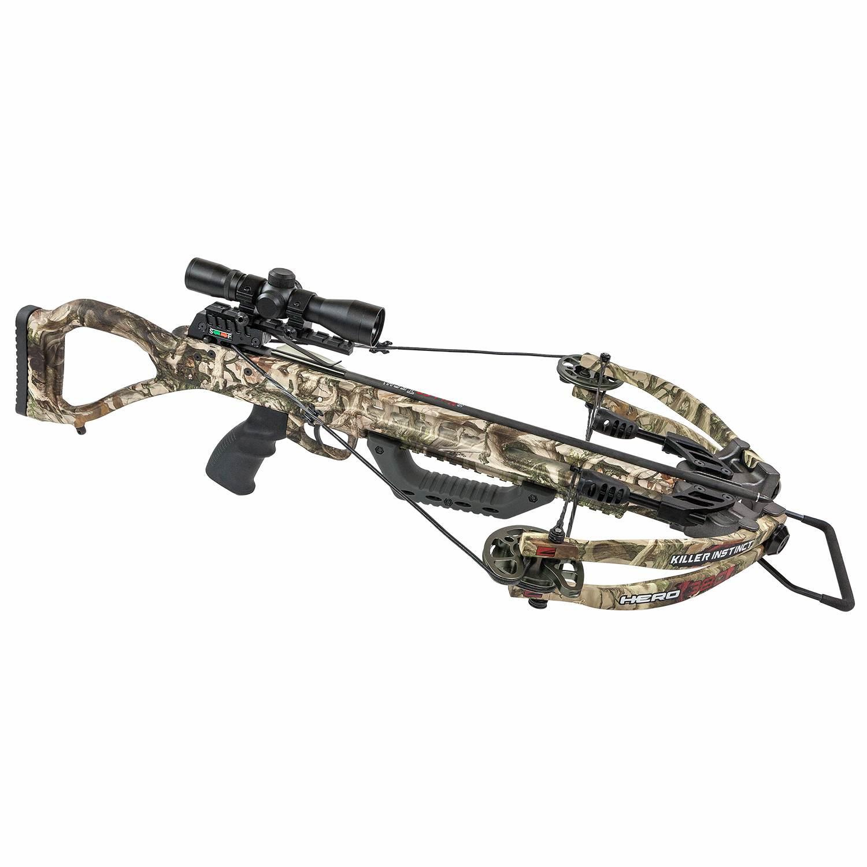 Killer Instinct Hero 380 Crossbow W Package Borkholder Archery