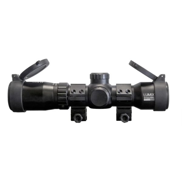 Killer Instinct Lumix Speedring 1.5–5x32 IR-E Crossbow Scope