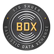 Sig Sauer Ballistic Data Exchange BDX