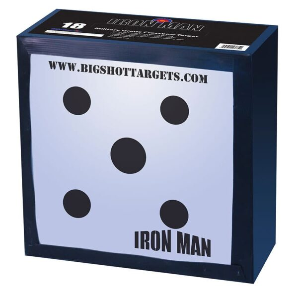 BIGshot Iron Man Crossbow Target for Field Tips