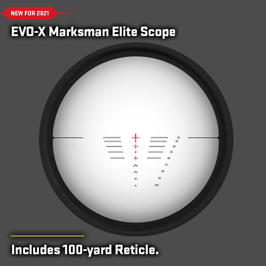 EVO-X Marksman Elite Scope Reticles