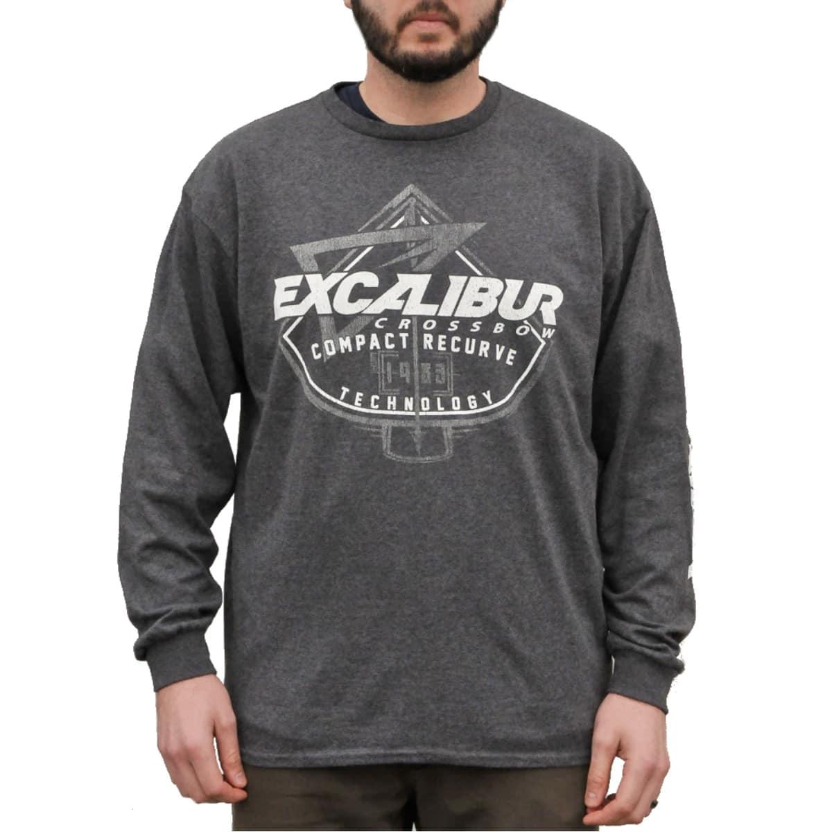 Excalibur Long Sleeve T-Shirt (Grey)