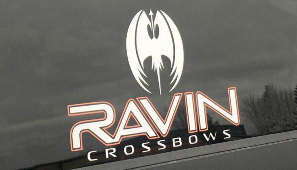 """Ravin Window Decal (8"""" x 5.5"""")"""