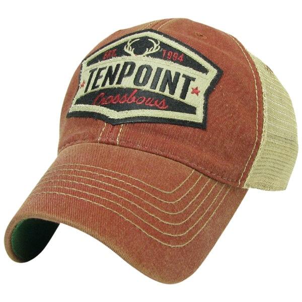 """TenPoint Red/Tan """"Est. 1994"""" Hat"""