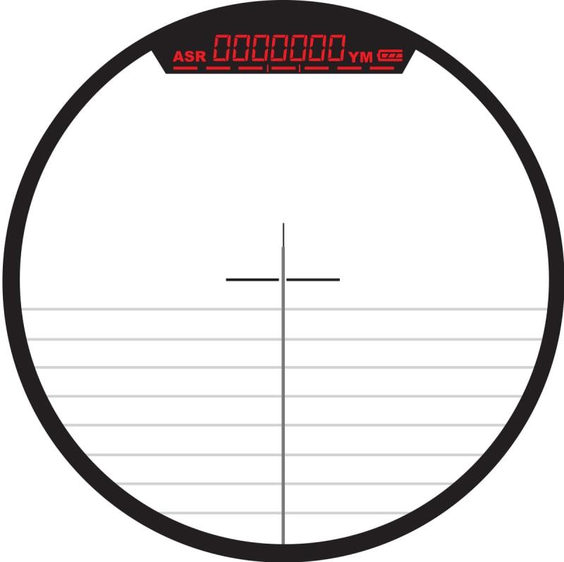 Burris Oracle X Rangefinding Crossbow Scope Reticle